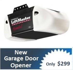 how to fix broken chain on garage door opener